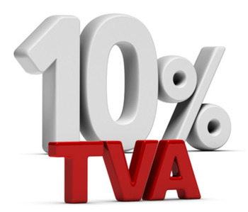 TVA A TAUX REDUIT 10 %