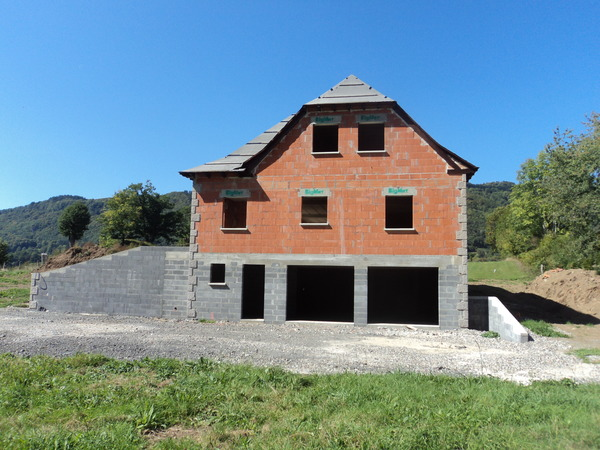 Construction pavillon maison aurillac cantal - Dallage maison individuelle ...